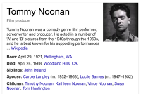 tommy noonan obituary